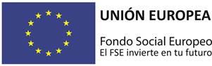 logo UNIÓN EUROPEA: El Fondo Social Europeo invierte en tu futuro